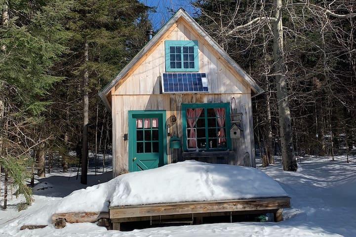 Tiny Home Off-Grid w/ Sauna, Biking, and Calm