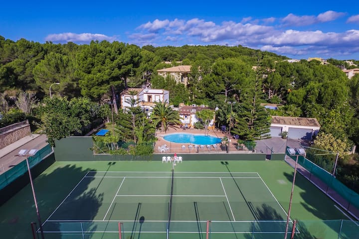 ☼Sol de Mallorca 2: Tennisplatz, Pool, Wifi, TV !