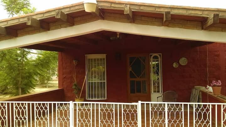 Casa Torreón para 2 y  10 personas.