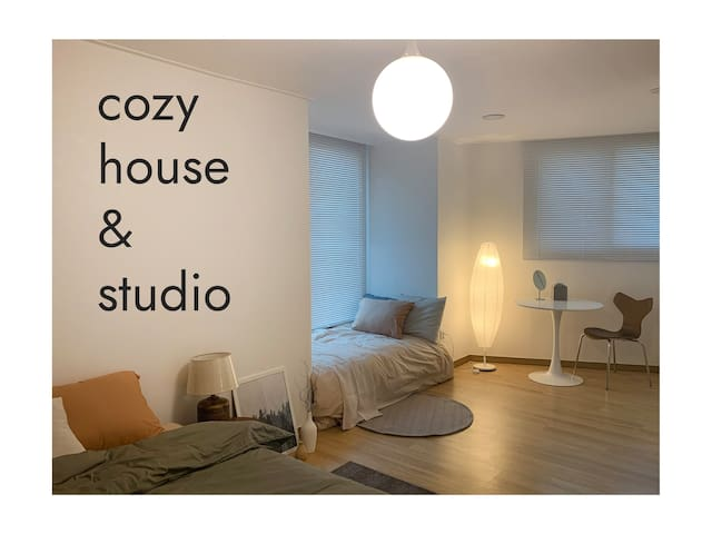 **OPEN SALE**  Cozy house & studio in Indeogwon