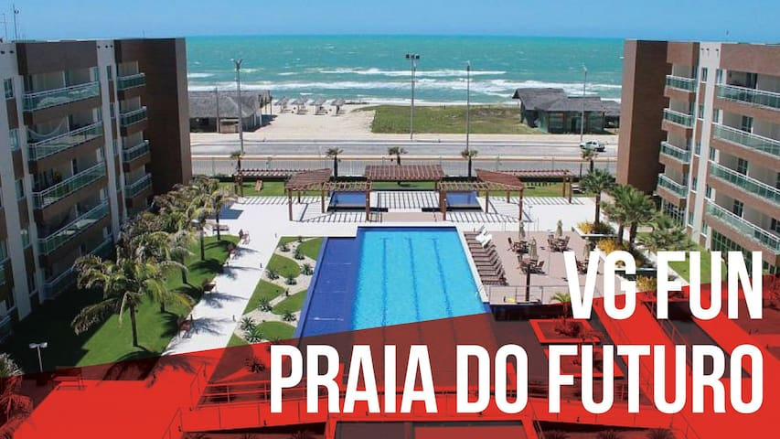 Aconchegante apartamento VG Fun Praia do Futuro