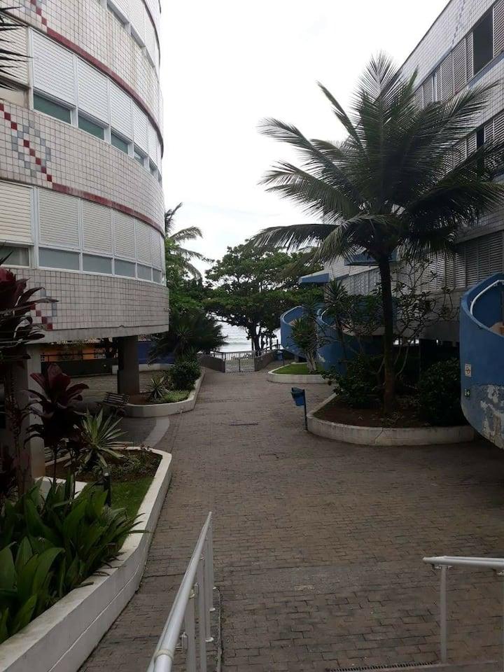 Apartamento Pé na Areia na Praia do Tombo