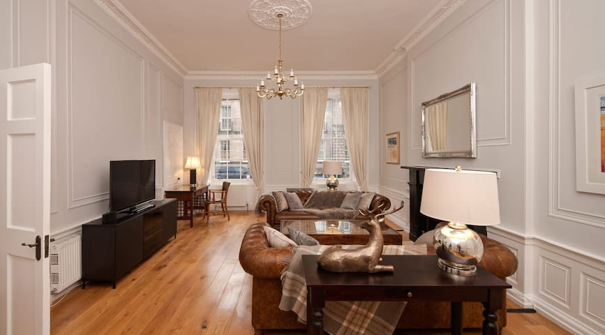 Luxury Georgian apartment in the City Centre