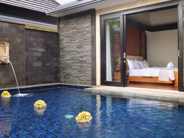 1 BR villa 5min to the beach - Gianyar