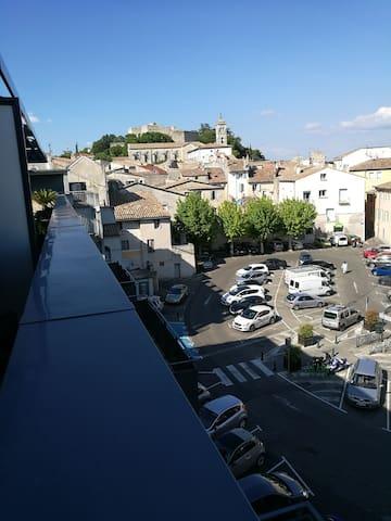 Charmant studio indépendant  terrasse avec hamac