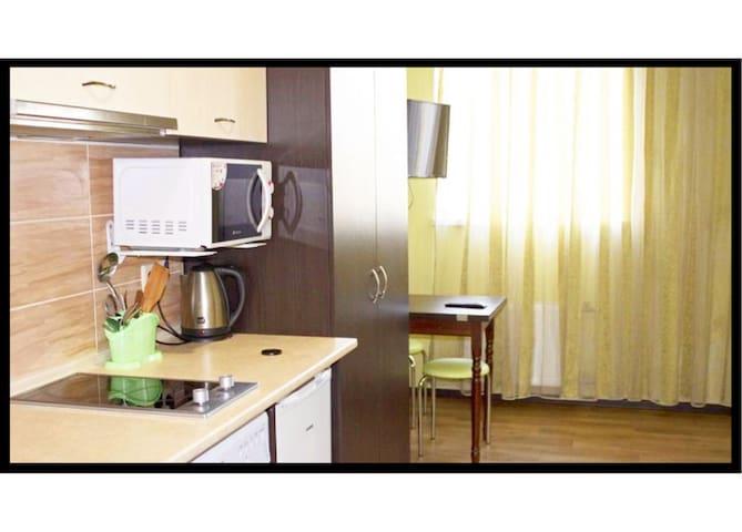Apartment on Klochkivska Street