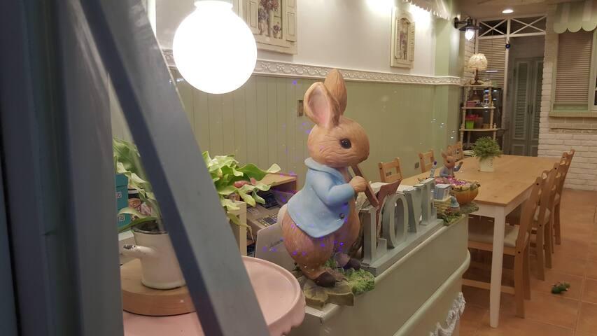 Peter Rabbit's Home - Mixed Dorm (1pax) A1