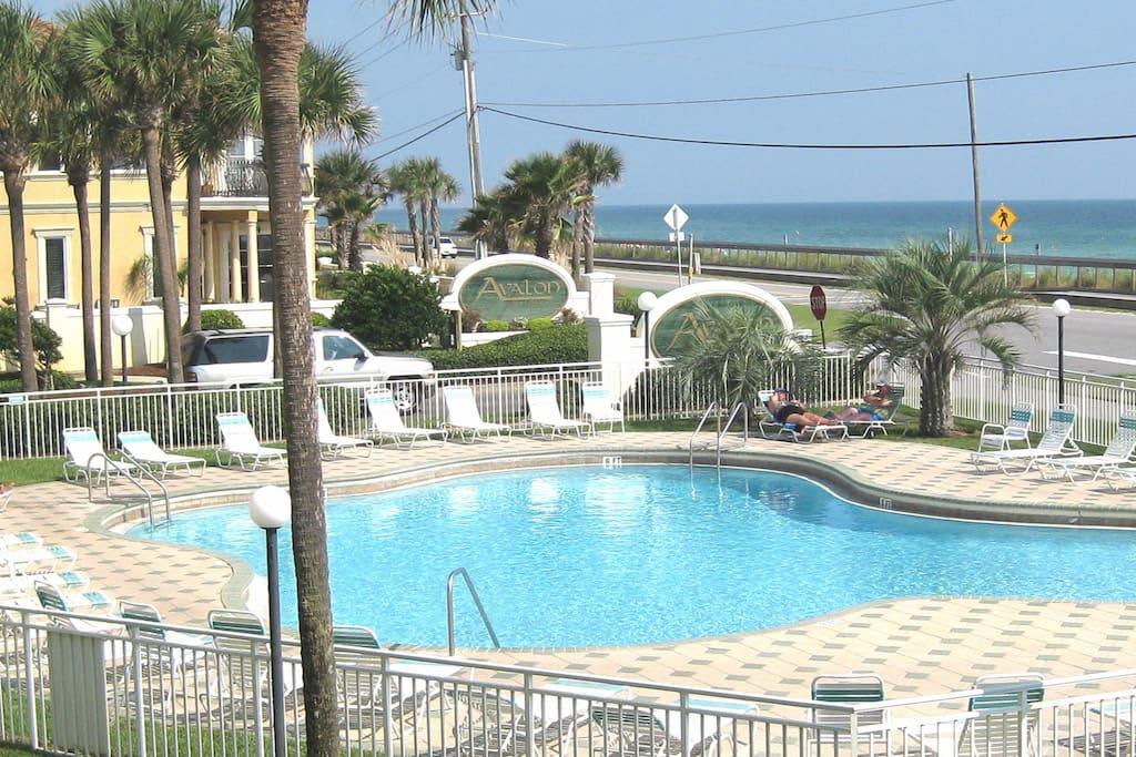Pool Near the Beach
