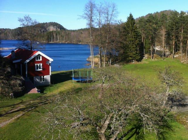 Idyllisk hytte, sandstrand - Arendal - Kabin