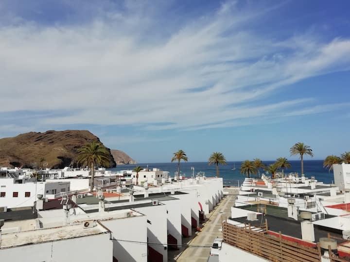 Caba de Gata, apartment with stunning sea view !
