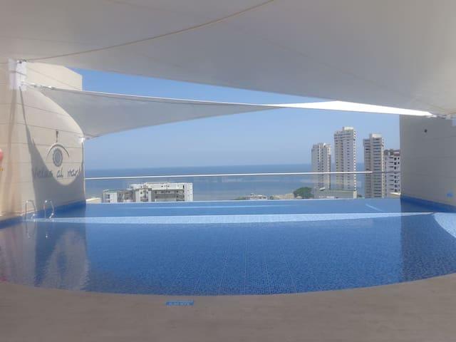 Apartamento con vista excepcional