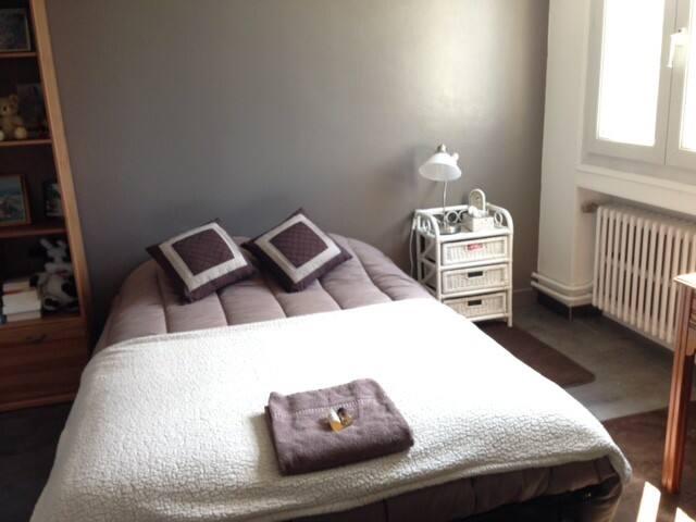 1 chambre complète pour 2 personnes - Saint-Genest-Lerpt - House