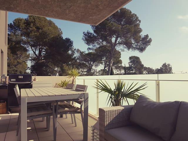 Belle chambre avec accès balcon - Juvignac - Lägenhet
