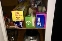 Aluminum Foil, Clear Foil, Zip lock, BBQ Utensils, Blender