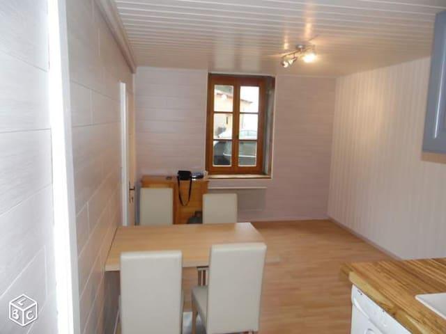 studio au rez-de-chaussée dans résidence calme