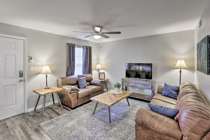Tallahassee Apartment < 1 Mile to FSU Campus!