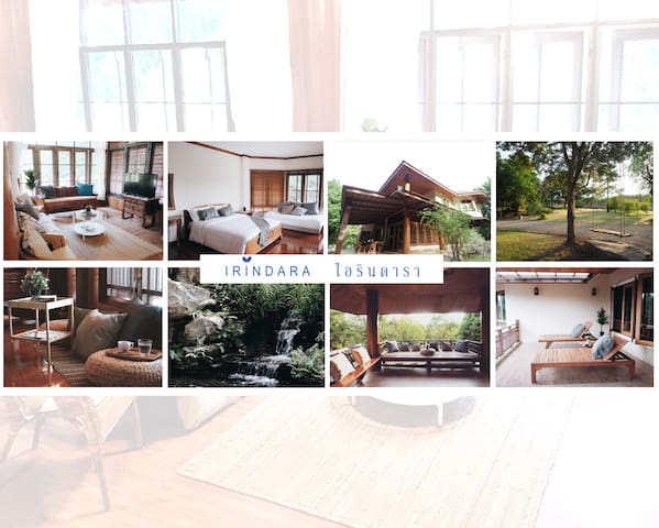 IRINDARA Khaoyai, Large Private house & area