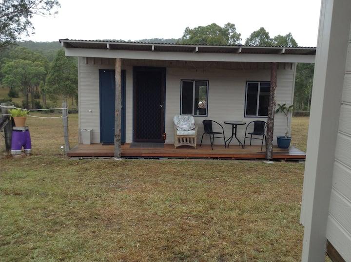 Mountain view / farm stay bush land cabin