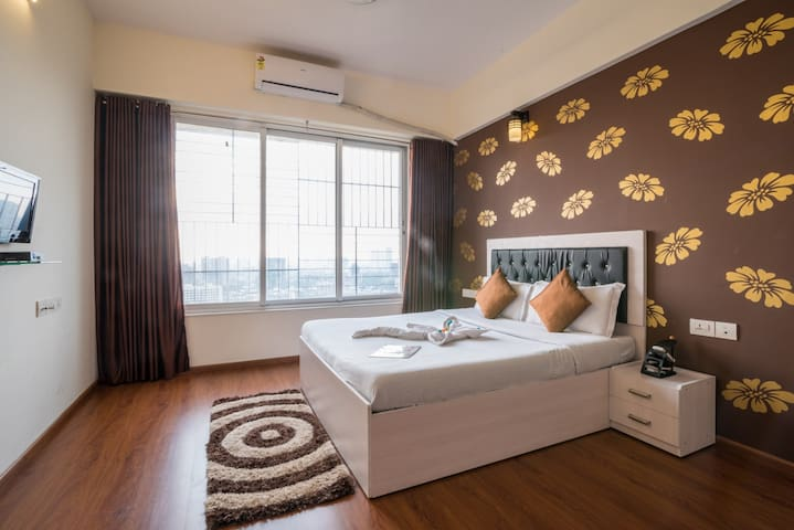 Cozy Studio apartment near Bandra Kurla Complex