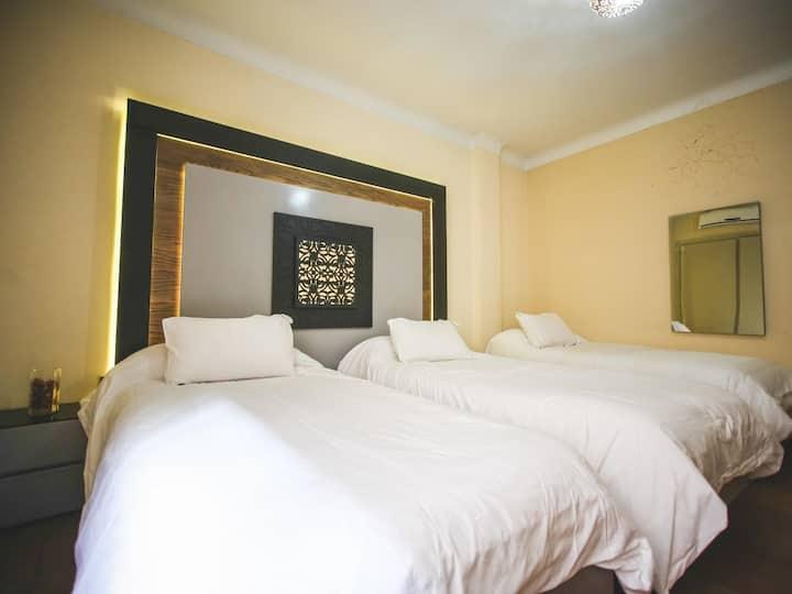 Triple Room at Hotel Bab Mansour Meknes