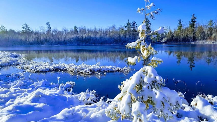 Cool snow shot