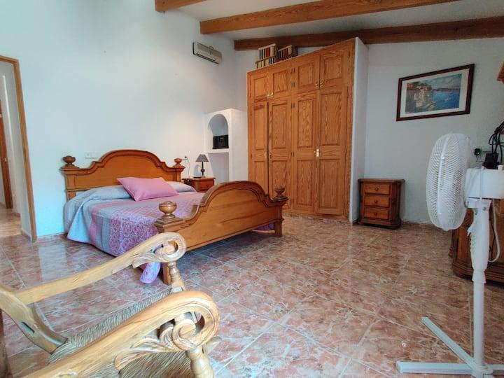 Habitación de matrimonio en Binissalem