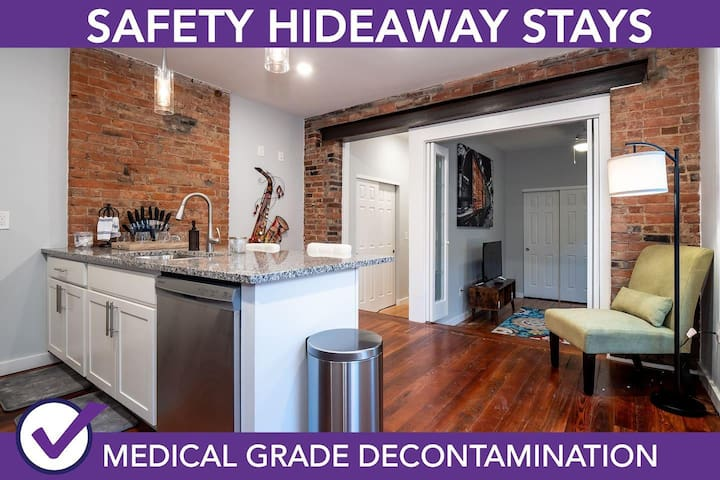 Safety Hideaway - Medical Grade Clean Home 57