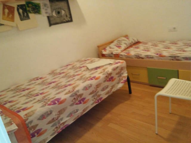 habitación doble pequeña, banyo y cocina - Alaior - Leilighet