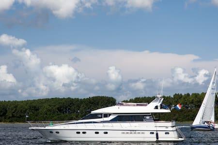 Overnachten op luxe jacht in haven van Yerseke - Wemeldinge - Boot