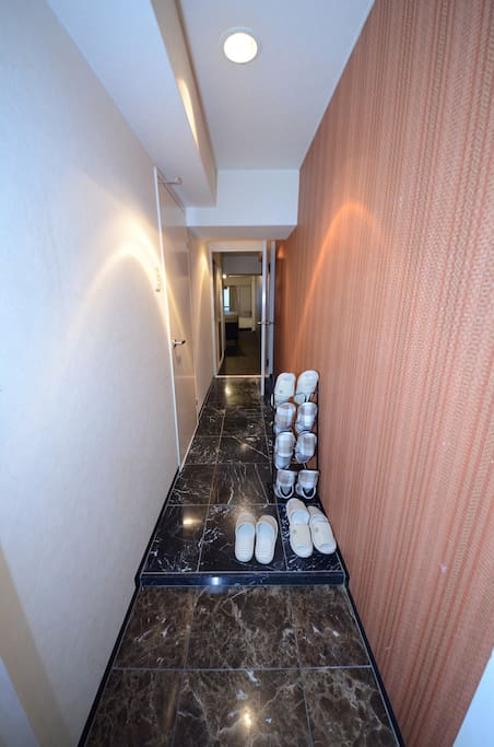 Entrance ways have also been important to Japanese homes as there must be a place to remove shoes and greet guests