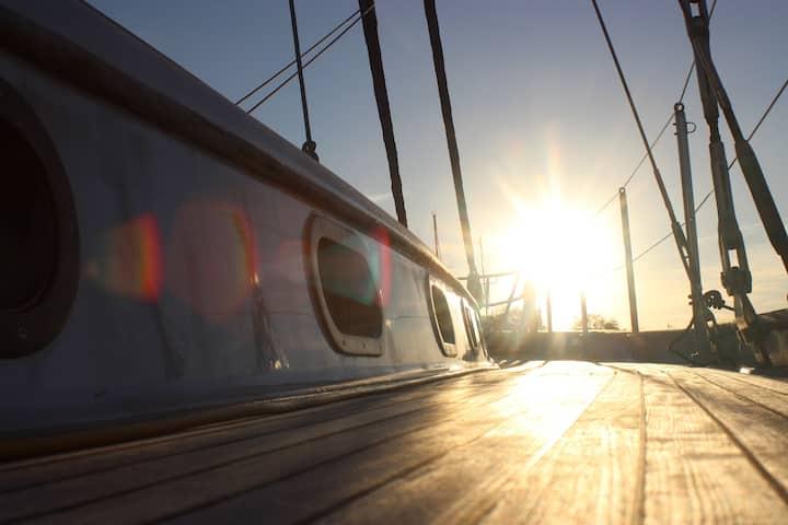 Une expérience unique à bord du Saint Aubert