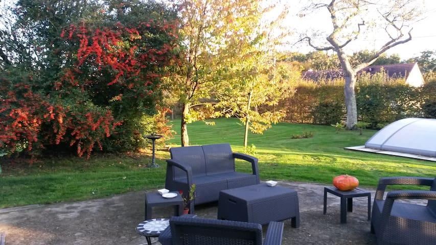 Chambre d'hôte proche d'Honfleur. - Manneville-sur-Risle - Bed & Breakfast