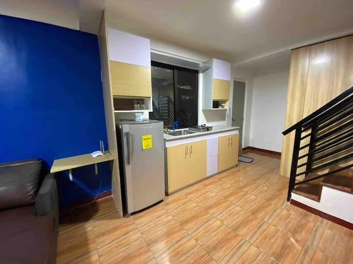 1 bedroom in  2 storey apartment in Tandang Sora