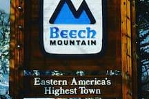 Steps to ski Beech resort!  ski,hike,tube,dine
