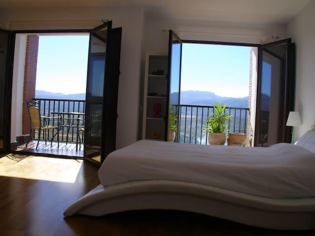 Apartmento con vistas y jacuzzi