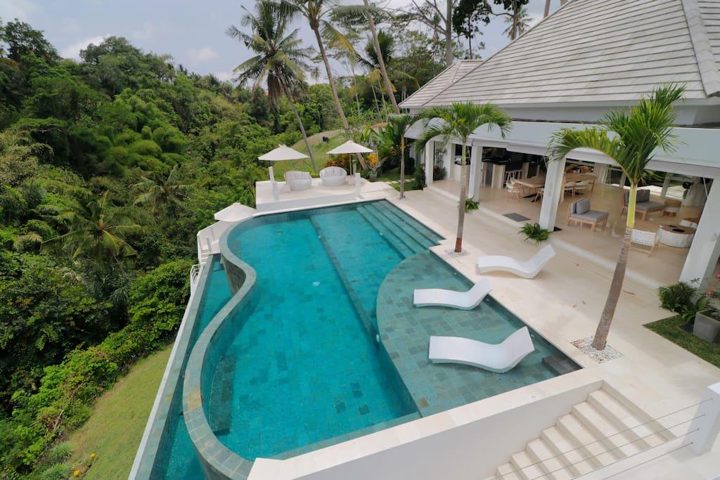 Magical Jungle Villa 4 Br Ubud W Staff Villas For Rent In Ubud Indonesia