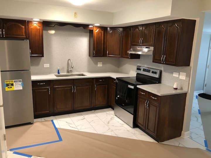Newly renovated 1 bedroom appartement in oak park