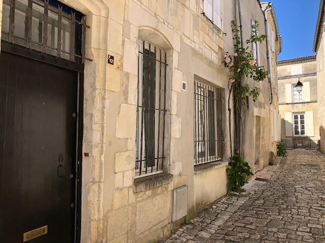 Suite parentale dans maison de ville, Vieux-Cognac