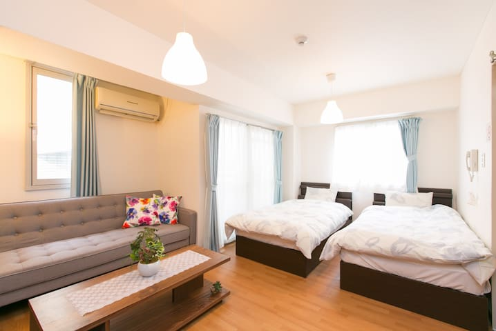 Direct Airport, Nanba Station walk 3min/B3