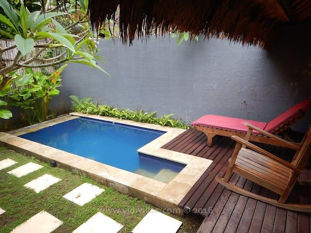 Vidi Villa #3 with swimming pool and 1 bedroom - Sukawati - Vila