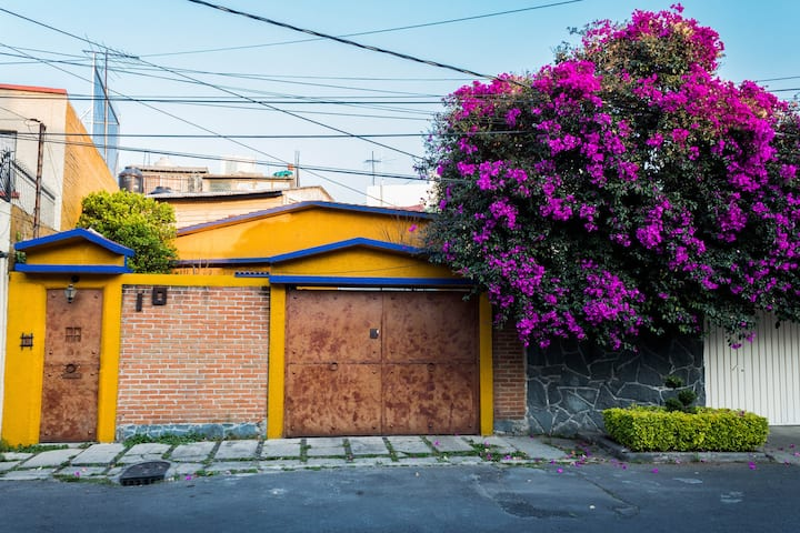 Casa entera con huerto en Coyoacán