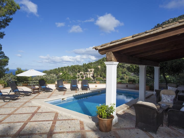 The perfect villa to chill out