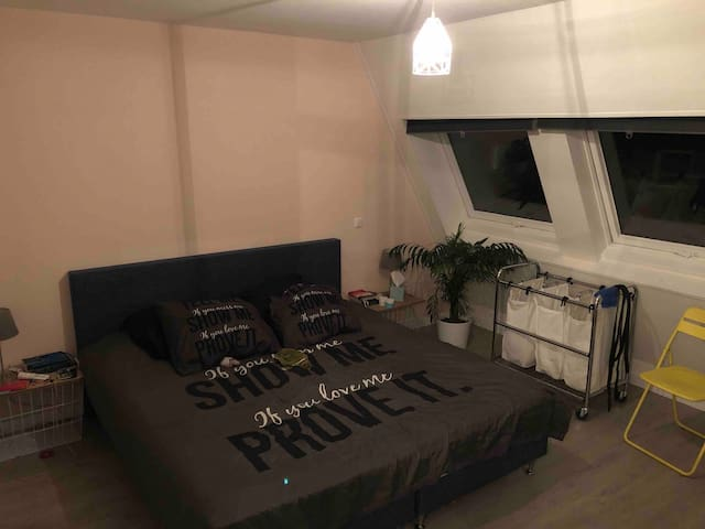Mooi appartement, bos en centrum op loopafstand!