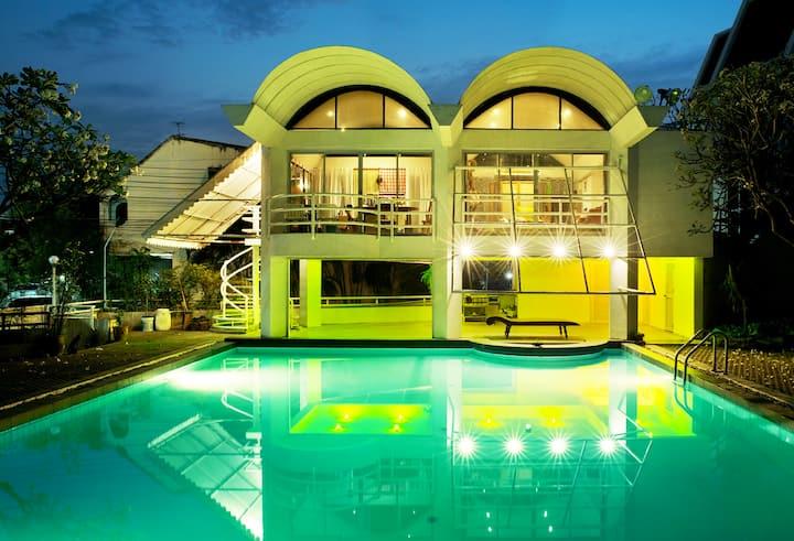 The Bohemian Pool House