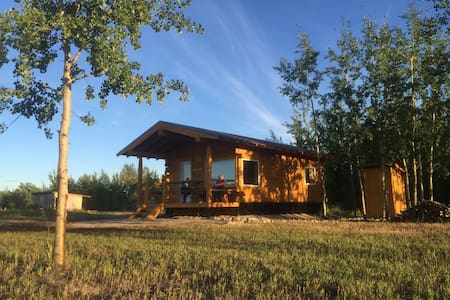 Oma and Opa's Northern Lights Cabin - Whitehorse
