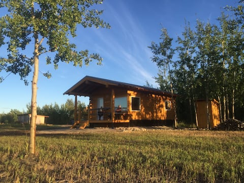 Oma and Opa's Northern Lights Cabin