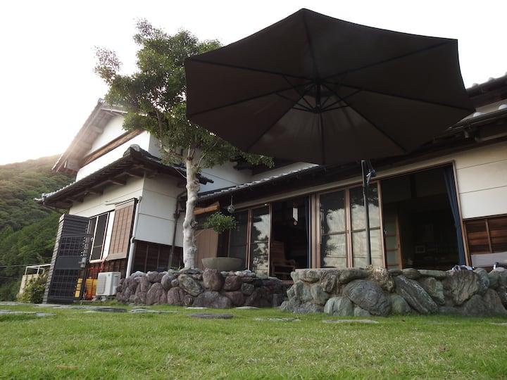 Niyodo river house  KADA 高知県いの町
