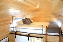 Guest loft with Queen size Tuft & Needle bed.  This home sleeps 5 adults comfortably!