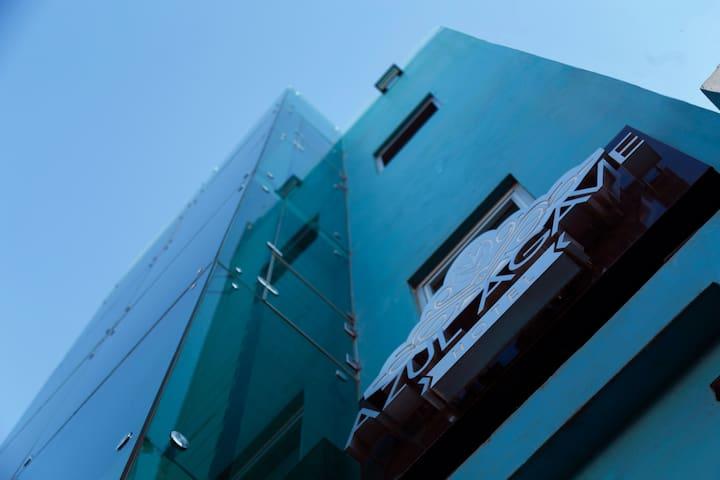 Hotel Azul Agave en en el centro de la cuidad