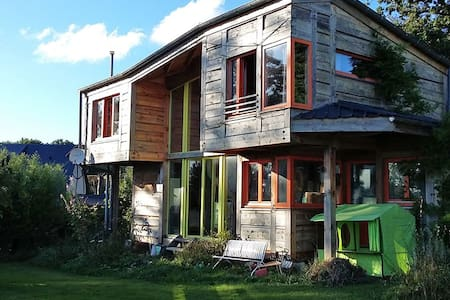 Maison atypique en bois - Dům